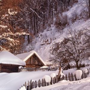 Iarna in Parang