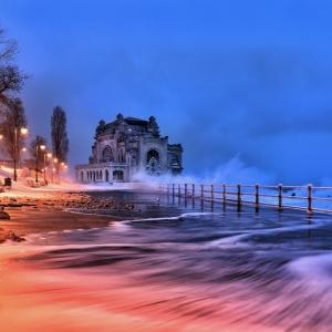 Iarna la Cazino