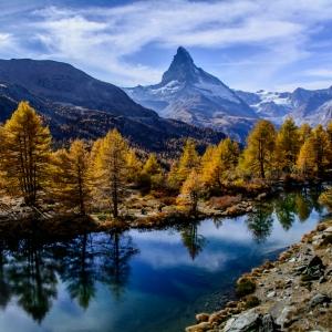 Toamna la poalele Matterhornului