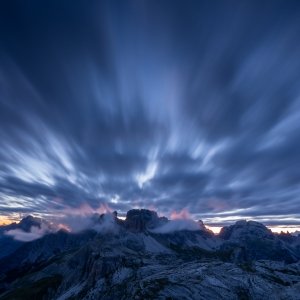 Amurg in Dolomiti