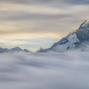 Rasarit in Mont Blanc