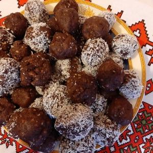 Biluțe cu biscuiți și cacao
