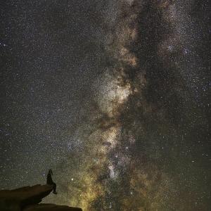 Calea Lactee în apropiere de Horseshoe Bend, Arizona