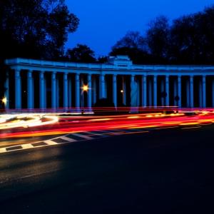 Parcul Nicolae Romanescu noaptea